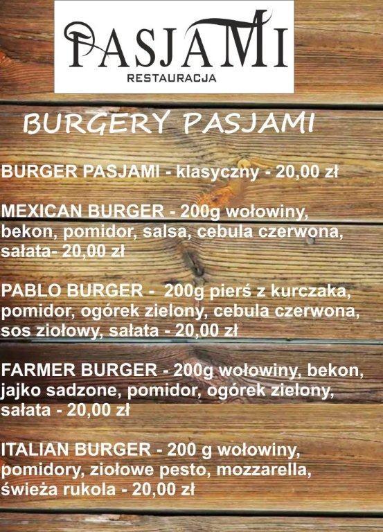 burgery pasjami